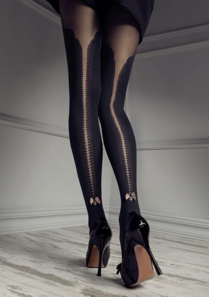 Patrizia Gucci pour Marilyn se moque sur les collants de genou avec top en dentelle