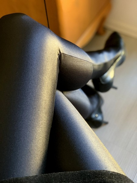 Gatta Black Brillant - High gloss and opaque tights