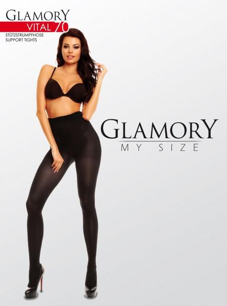 Glamory Vital 70 - Collant de soutien size plus