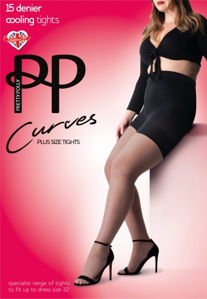 Pretty Polly Curves - Plus size collant